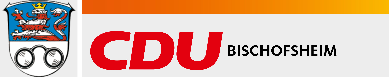 Logo von CDU Bischofsheim